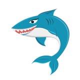 Desenhos animados do tubarão Fotos de Stock