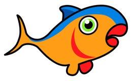 Desenhos animados dos peixes de atum Imagens de Stock
