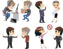 Desenhos animados dos povos Imagens de Stock Royalty Free