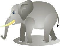 Desenhos animados engraçados do elefante ilustração stock
