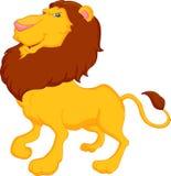 Desenhos animados engraçados do leão Fotografia de Stock