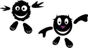 Desenhos animados engraçados do vetor ilustração royalty free