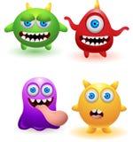 Desenhos animados engraçados do monstro Fotografia de Stock Royalty Free