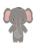 Desenhos animados felizes do elefante do bebê Imagens de Stock