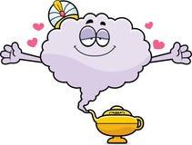 Desenhos animados Genie Hug ilustração royalty free