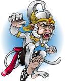 Desenhos animados Hanoman do wayang do vetor Imagem de Stock Royalty Free