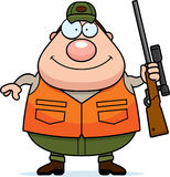 Desenhos animados Hunter Rifle Fotografia de Stock