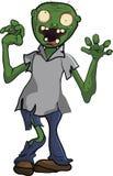 Desenhos animados inoperantes de passeio dos povos do zombi engraçados Fotos de Stock Royalty Free