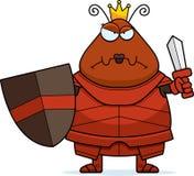 Desenhos animados irritados Ant Queen Armor ilustração royalty free