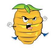 Desenhos animados irritados da colmeia Imagem de Stock