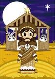 Desenhos animados Joseph Bible Character ilustração do vetor