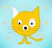 Desenhos animados Kat Foto de Stock