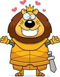 Desenhos animados Lion King Armor Hug ilustração stock