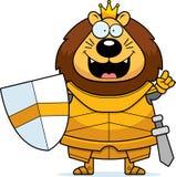 Desenhos animados Lion King Armor Idea ilustração royalty free
