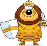 Desenhos animados Lion King Armor Sword ilustração stock