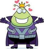 Desenhos animados Martian King Hug ilustração royalty free