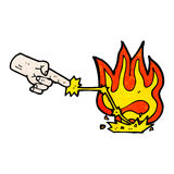 desenhos animados mágicos do toque Imagens de Stock Royalty Free