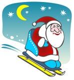 Desenhos animados Papai Noel Foto de Stock