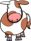 Desenhos animados pequenos da vaca ou da vitela Foto de Stock