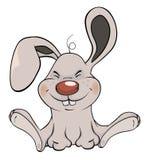 Desenhos animados pequenos do coelho Fotos de Stock Royalty Free