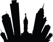 Desenhos animados Philadelphfia Foto de Stock Royalty Free