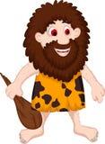 Desenhos animados primitivos do homem Foto de Stock Royalty Free