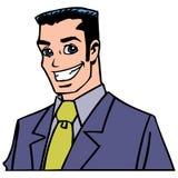 Desenhos animados profissionais do homem foto de stock royalty free