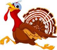 Desenhos animados running Turquia Imagens de Stock