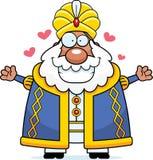 Desenhos animados Sultan Hug ilustração do vetor