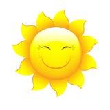 Desenhos animados Sun Imagem de Stock