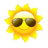 Desenhos animados Sun Imagens de Stock