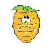 Desenhos animados tristes da colmeia Fotografia de Stock Royalty Free