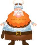 Desenhos animados tristes Viking Fotos de Stock Royalty Free