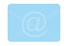 Desenhos animados um email Imagem de Stock Royalty Free