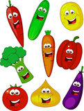 Desenhos animados vegetais Foto de Stock Royalty Free