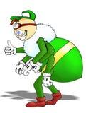 Desenhos animados verdes do erro Imagem de Stock Royalty Free