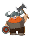 Desenhos animados viquingue Foto de Stock Royalty Free