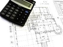 Desenhos de construção Imagem de Stock