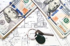 Desenhos de detalhe da engenharia para o fundo Imagem de Stock Royalty Free