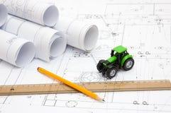 Desenhos do construtor Imagem de Stock Royalty Free