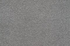 Desenhos em espinha tecidos da textura da cor cinzenta preta Fotos de Stock Royalty Free