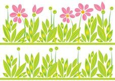 deseniowa łąki wiosna Obrazy Royalty Free