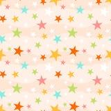 deseniowa bezszwowa gwiazda Fotografia Royalty Free