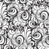 Deseniowa bezszwowa kwiecista tło wektoru ilustracja Zdjęcie Stock