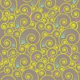 deseniowa bezszwowa spirala Zdjęcie Stock