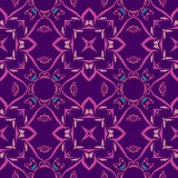 deseniowa bezszwowa symetryczna tekstura royalty ilustracja