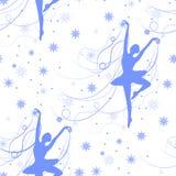 deseniowa bezszwowa zima Zdjęcie Royalty Free