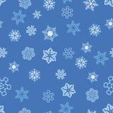 deseniowa bezszwowa zima Obrazy Stock