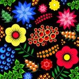 Deseniowa kwiat ilustracja Obrazy Royalty Free