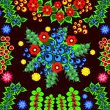 Deseniowa kwiat ilustracja Zdjęcie Stock